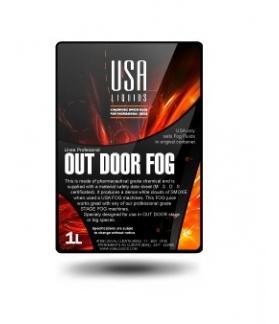 Liquido Para Maquina De Humo Para Exterior Out Door USA Por 1 L