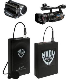 Micrófono Corbatero Inalámbrico Vhf P/videocámara Nady 351vr