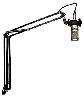 Brazo articulado para microfono en estudio de radio Magneto Sonora MS-3