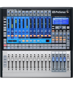 Consola digital 16 canales PreSonus Studiolive 16.0.2