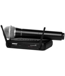 Microfono inalambrico Shure SVX24/PG58