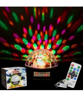 Esfera de LED USB con remoto