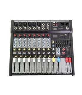 CONSOLA MEZCLADORA DE SONIDO E-SOUND MP-802U