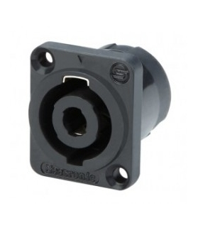 Conector Speakon 4 contactos macho p/chasis SL4MP