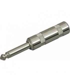 Conector plug mono todo metalico ST201