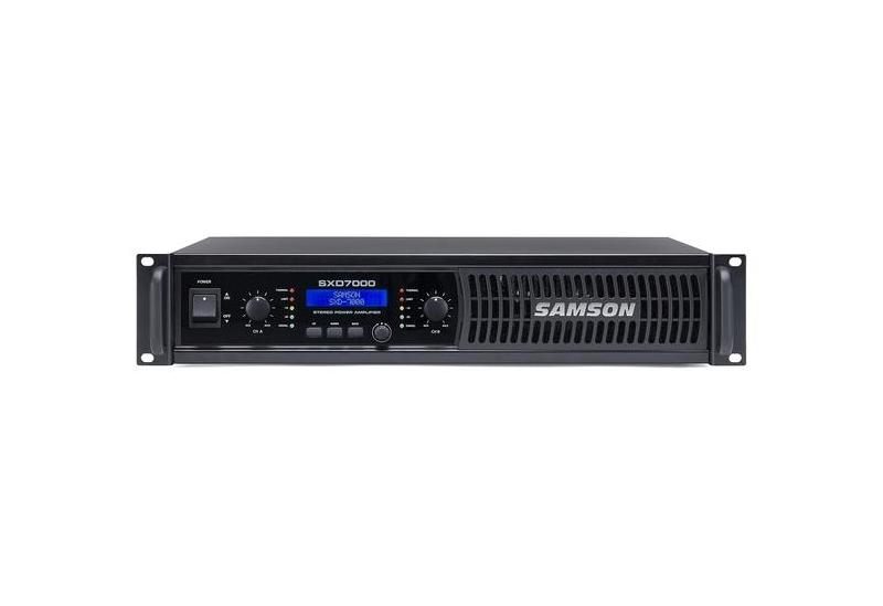 Potencia Samson SXD 7000 con DSP