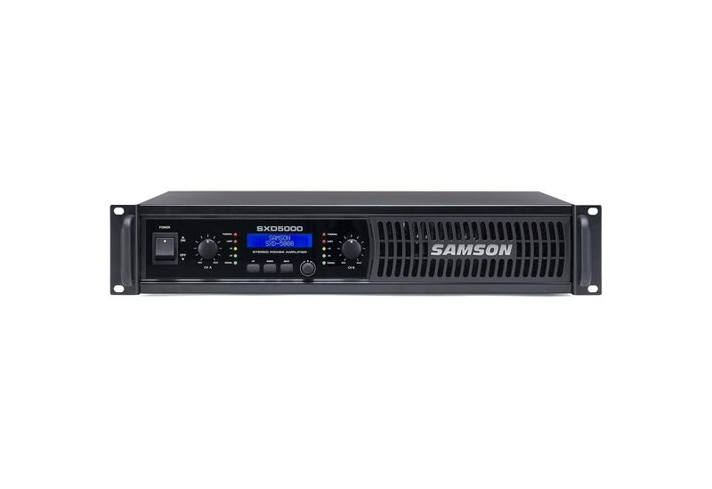 Potencia Samson SXD5000 con DSP