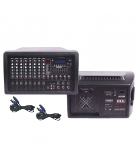Consola potenciada BLG MC 82150 PC con Bluetooth