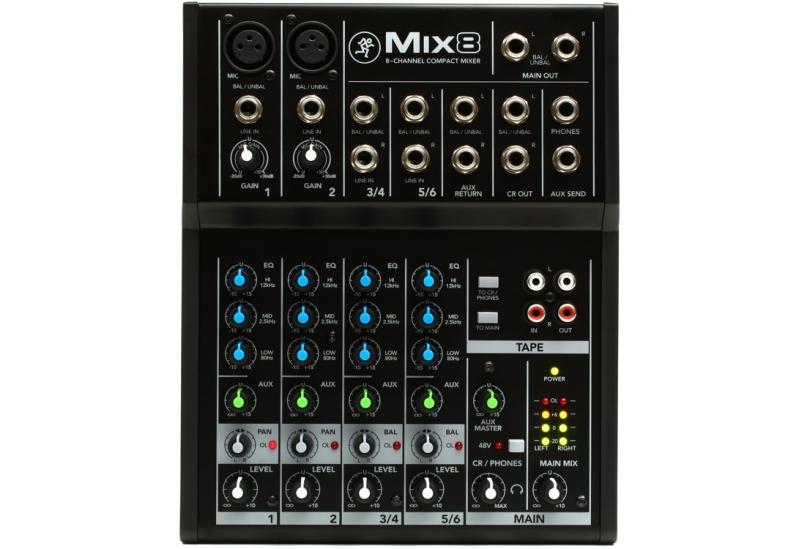 Consola Mackie MIX 8