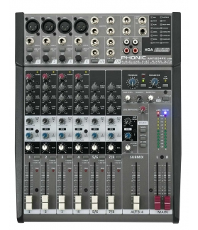 Consola de sonido Phonic AM1204FX USB
