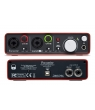 Interface Placa USB Focusrite Sarlett 2i2