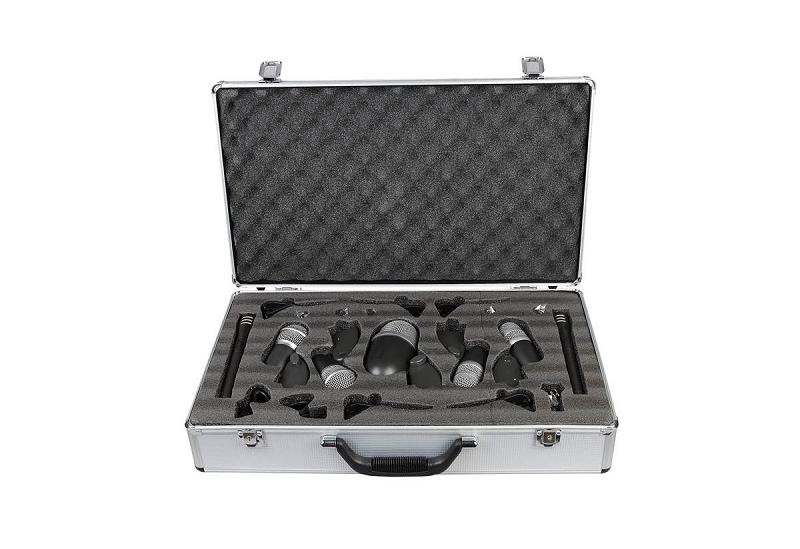 Kit de microfonos para bateria GBR DK-7