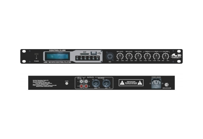 Control GBR 5 USB