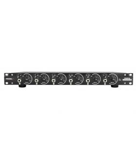 Amplificador de auriculares - 6 salidas indepe