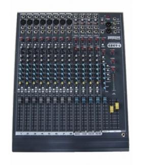 Consola Mixer Tecshow Ampro Grey-ll8 Mp3 8 Canales-usb-16efx