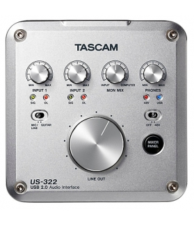 INTERFACE DE AUDIO Tascam us-322usb