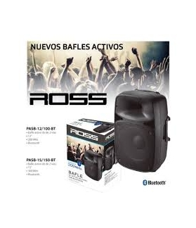 Bafle Activo ROSS PASB-15/150-BT LED