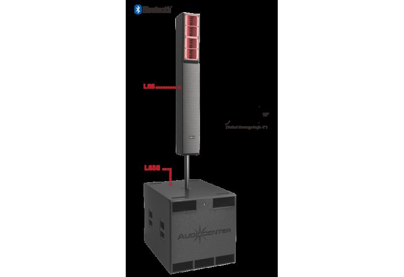 Sistema de sonido Audiocenter L65 + L65S