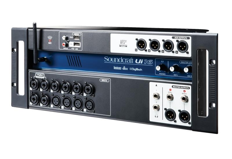 Consola digital de 16 canales Presonus Ui16