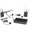 Micrófono inalámbrico UHF Samson Concert 288 Dual Vincha y Solapero