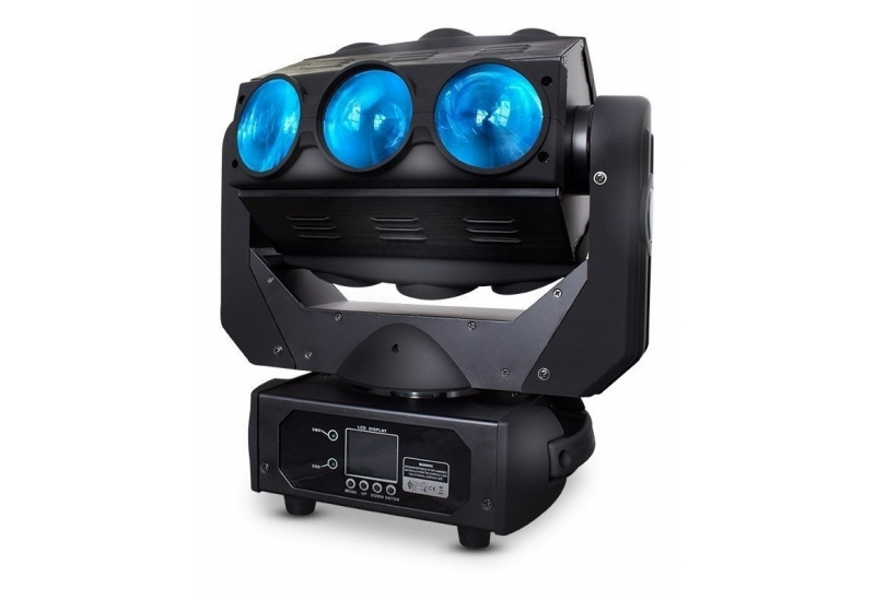 Cabezal móvil Crazybeam-x910 E-Lighting