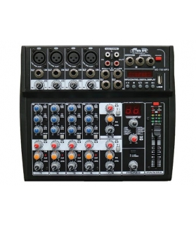 Consola de sonido GBR MD 755 USB