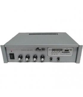 Amplificador portatil GBR Power 4000 MP3 12/220 volts