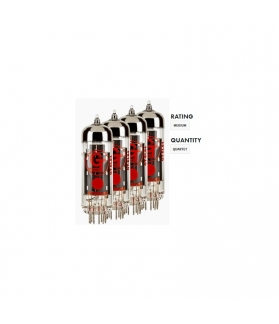 VALVULA EL84 GROOVE TUBES -EL84-S - RANGO MEDIO (X 4 UNID.)