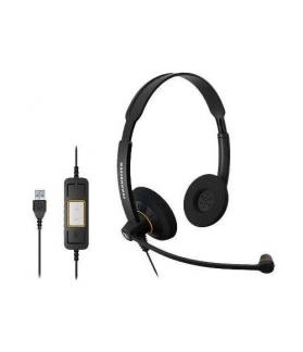 Auricular Sennheiser con micrófono SC 60 USB MI