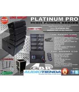 Sistema Line Array activo digital Combo 4 Top 1200/1500
