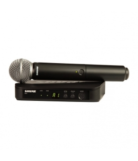 Micrófono inalámbrico Shure  BLX24AR/SM58-M5
