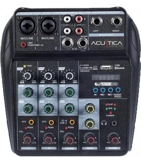 Consola de sonido multifunción Acustica VX-200U con interface USB