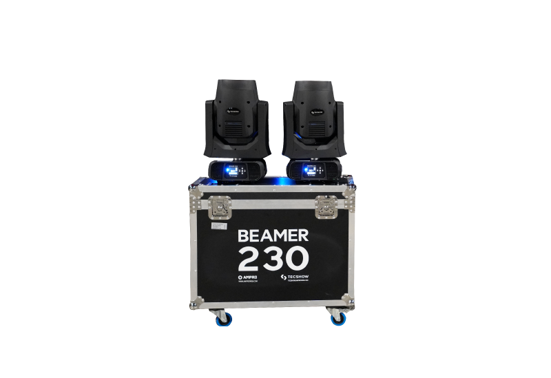 Cabezal móvil BEAMER 230 (Kit 2 U)