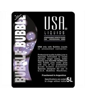 Liquido Para Maquina De Burbujas USA Por 5 L