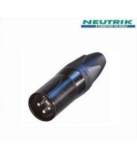 Conector Neutrik XLR a cable NC 3 MX-B